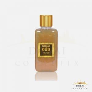 oud & oud hemadi luxury oud cosmetiques gels douche parfumes 300 ml dubai cosmetix