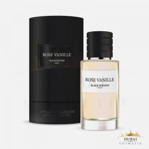 rose vanille black edition coffret parfums occidentaux 50 ml dubai cosmetix